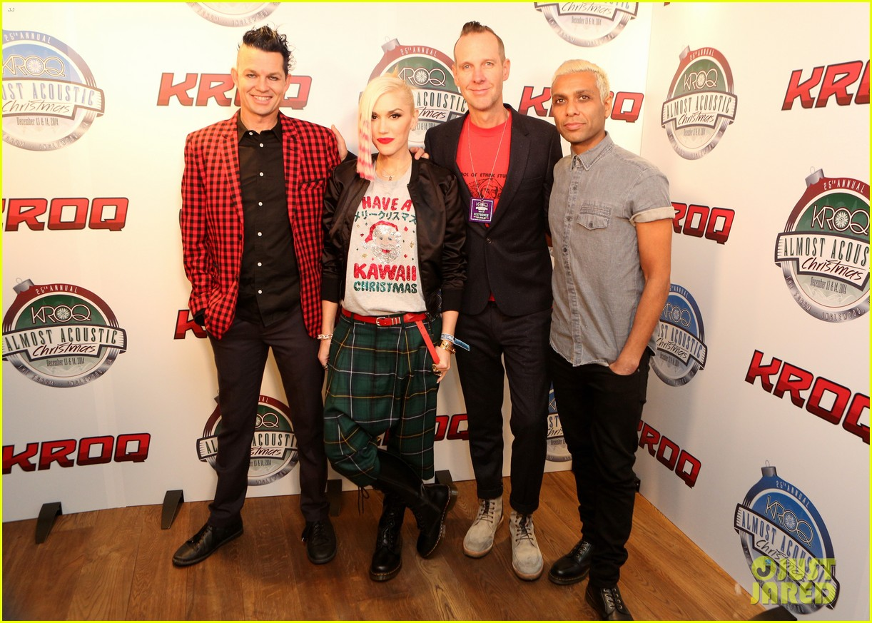 gwen stefani gavin rossdale rock out at kroq almost acoustic christmas 023262391