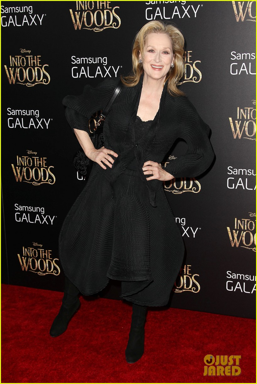 meryl streep into the woods premiere 143257890
