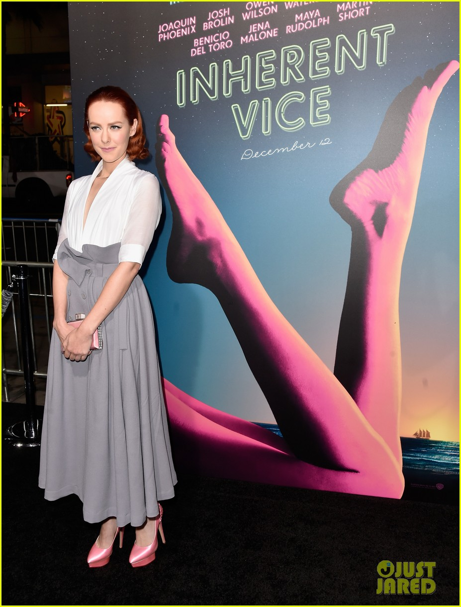 katherine waterston talks going fully nude in 'inherent vice': photo