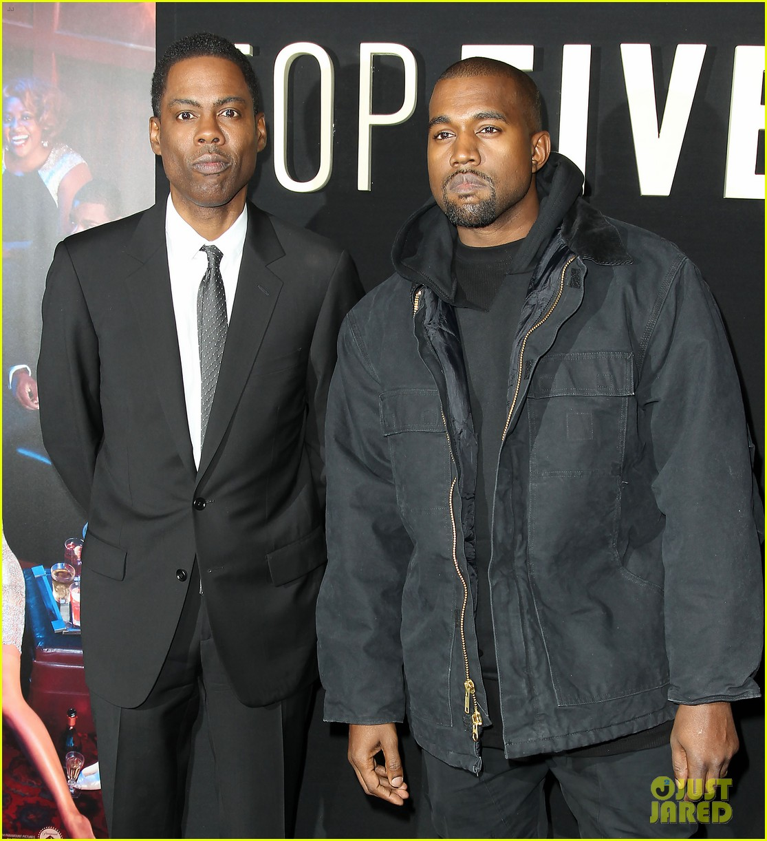 kanye west joins cast of top five at new york premiere 223254615