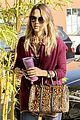jessica alba back to work after holiday 01