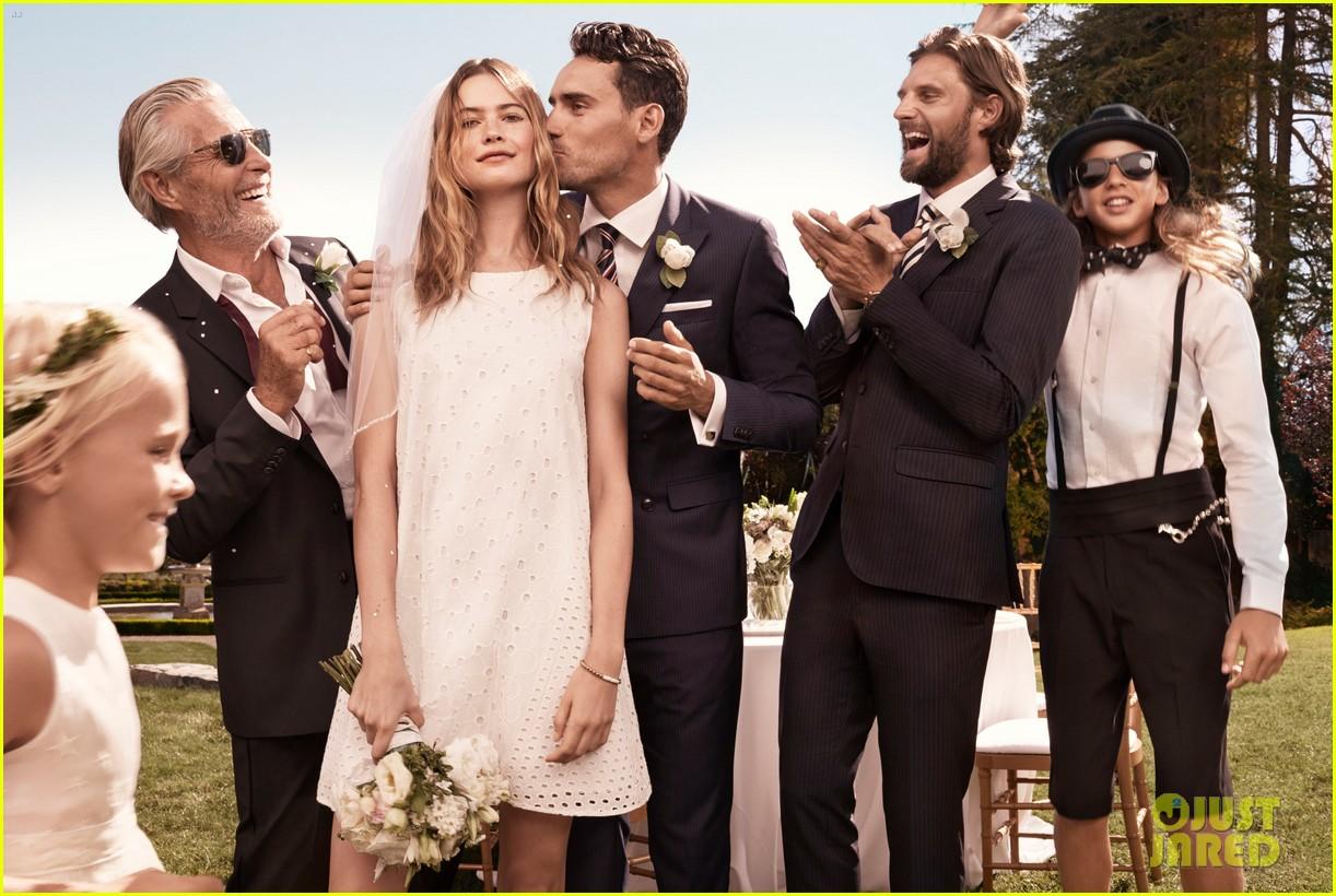 Behati Prinsloo Marries A Lookalike Adam Levine In Tommy