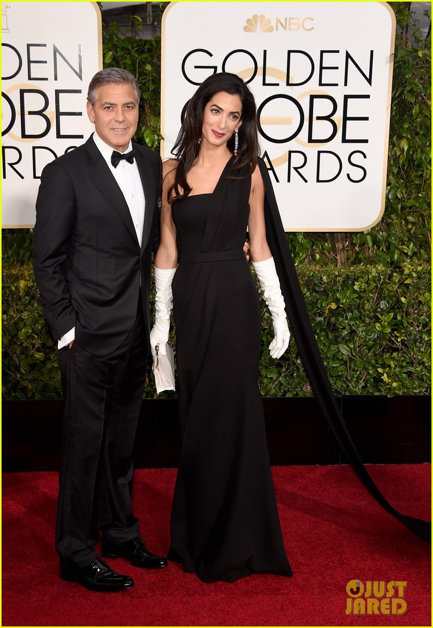 george clooney thanks wife amal during golden globes 2015 023278363