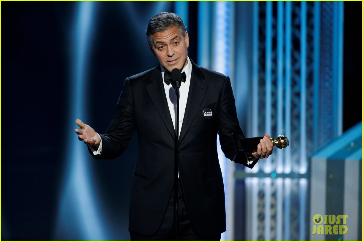 george clooney thanks wife amal during golden globes 2015 063278367