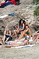 leonardo dicaprio continues st barts trip surrounded by women 38
