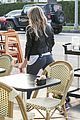 hilary duff works out before coffee 22