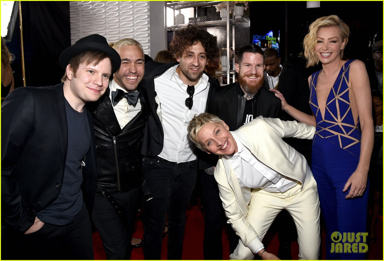 3902e0d0b2f9 Pete Wentz   Fall Out Boy Rock Out on People s Choice Awards 2015 Red Carpet