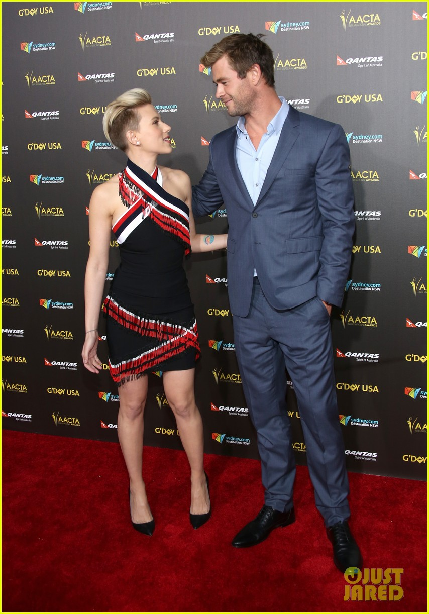 Scarlett Johansson Honors Her Avengers Co Star With An