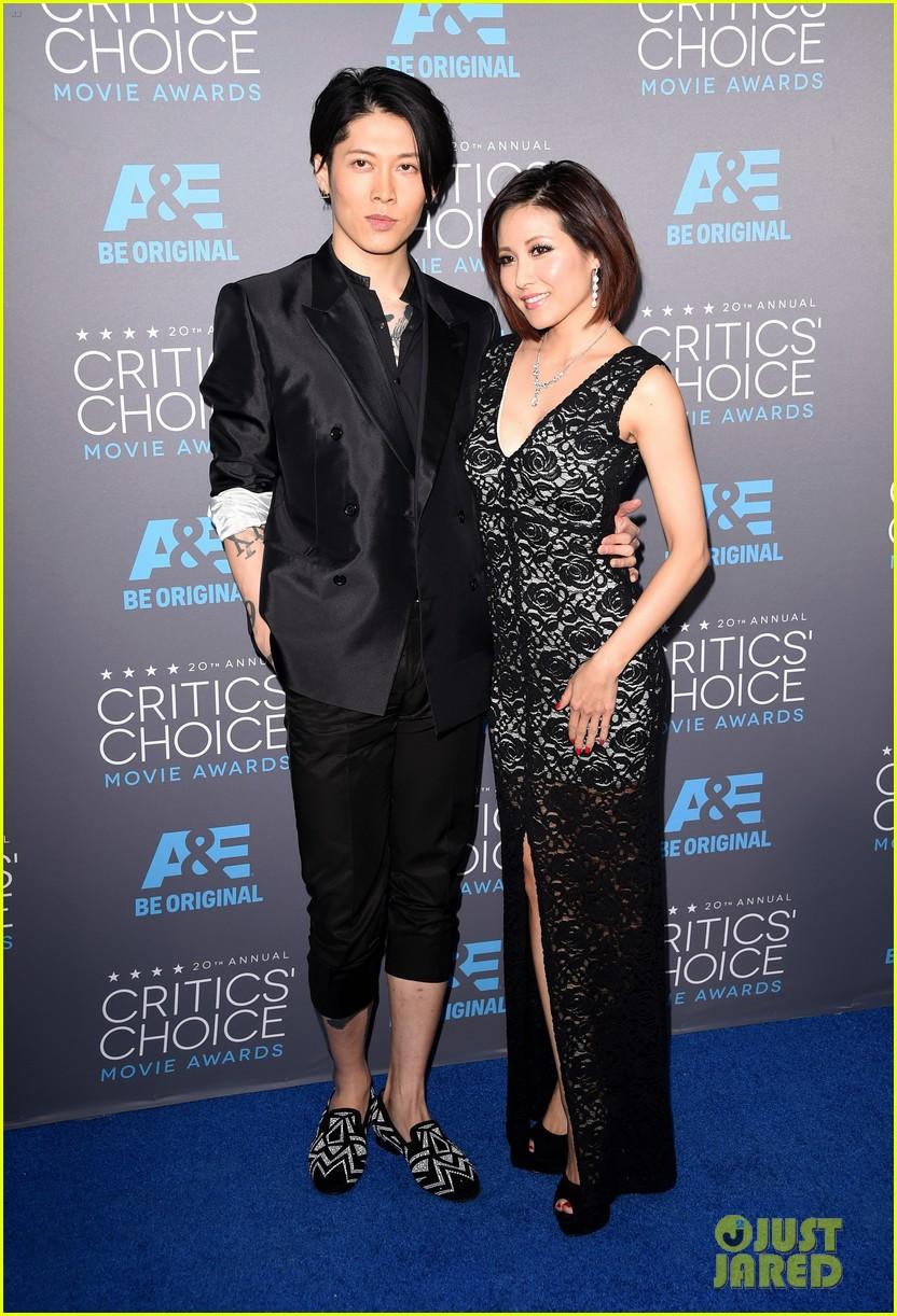 Garrett Hedlund Miyavi Support Angelina Jolie Unbroken At The