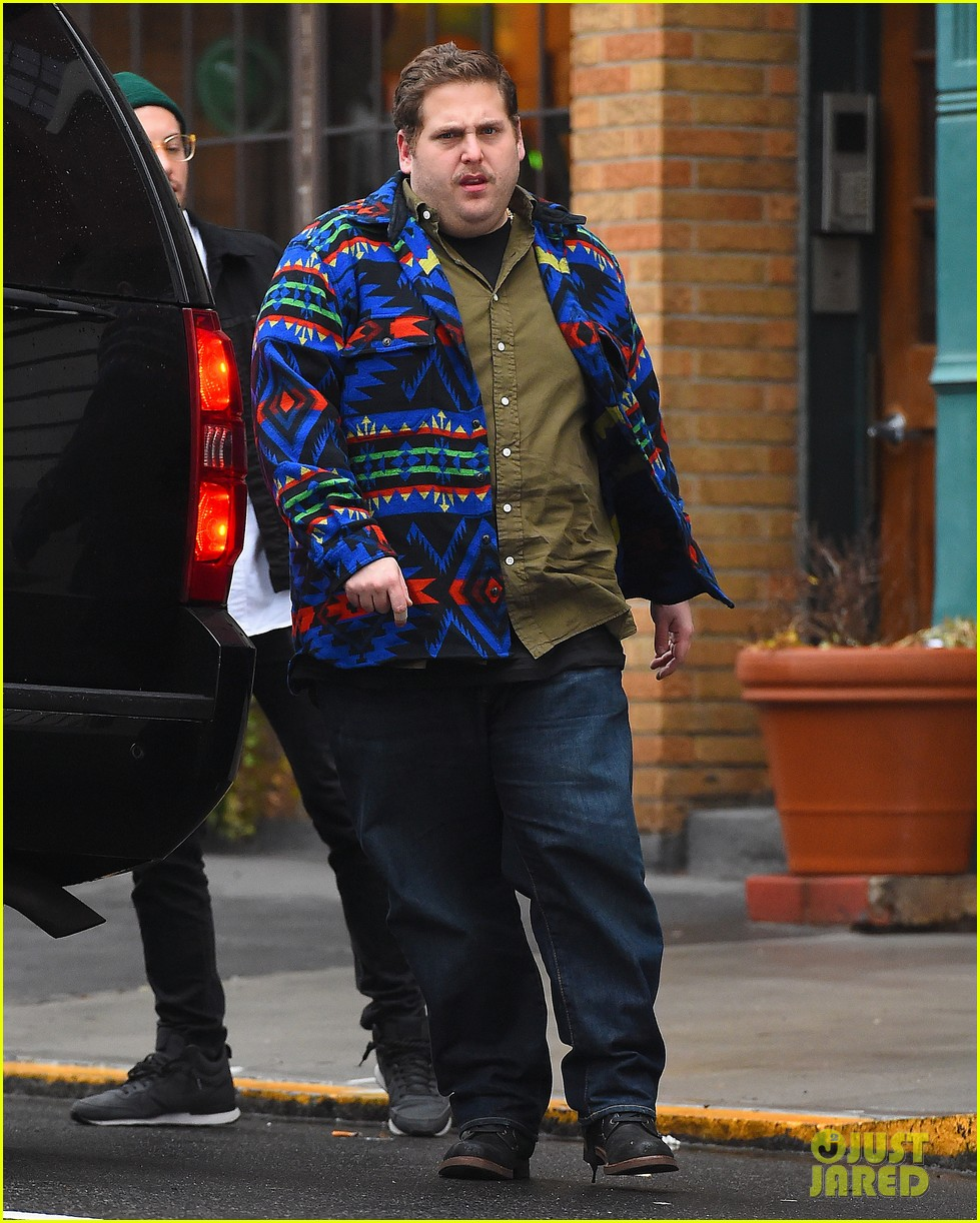 jonah hill starts the new year off with a mustache 013272464
