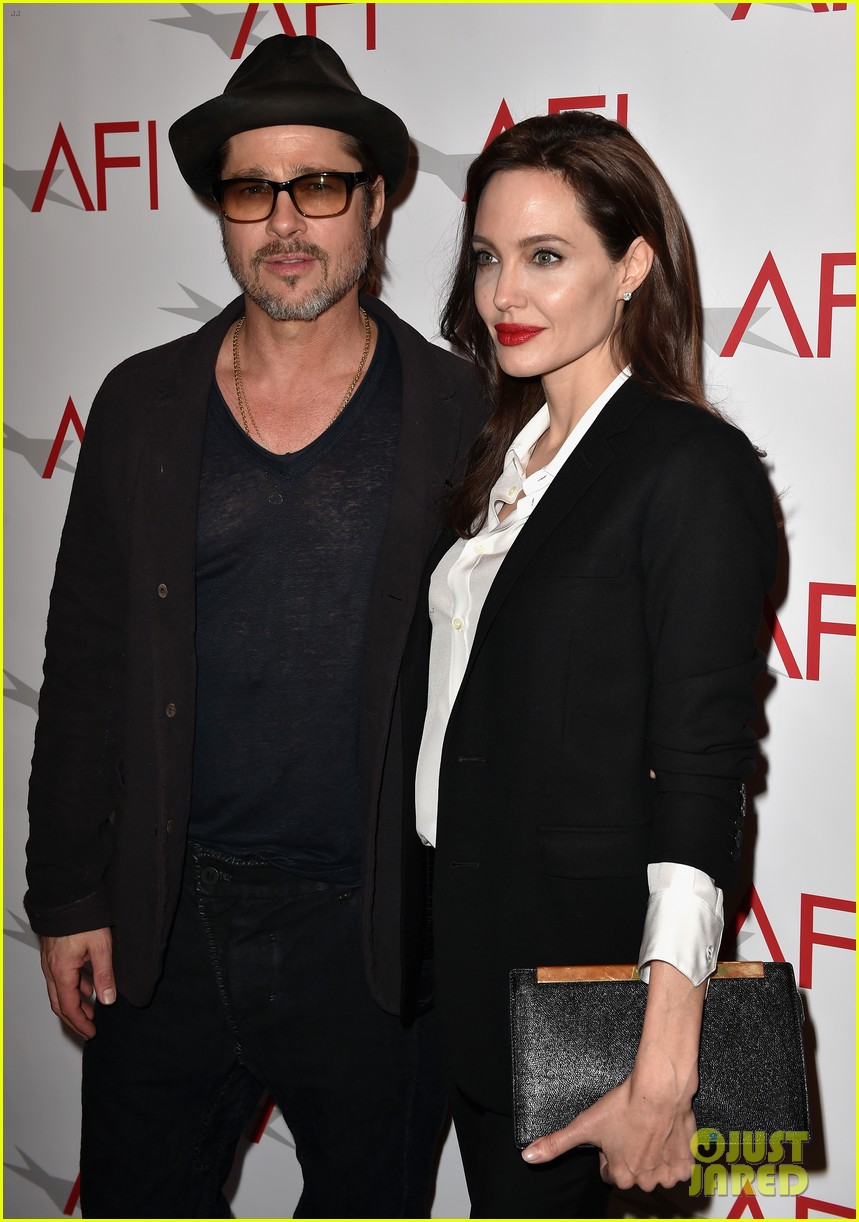 angelina jolie honors unbroken at afi awards with brad pitt 073275977