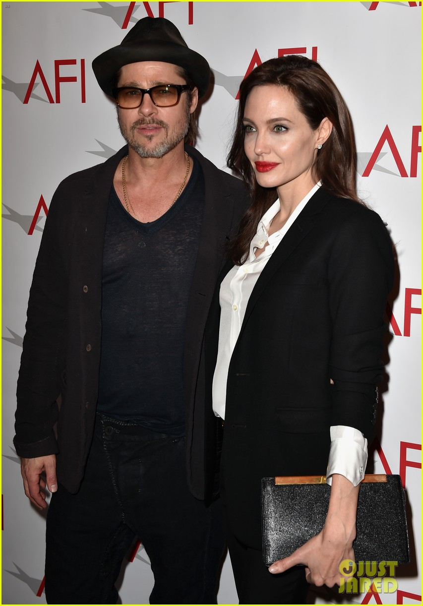 angelina jolie honors unbroken at afi awards with brad pitt 113275981