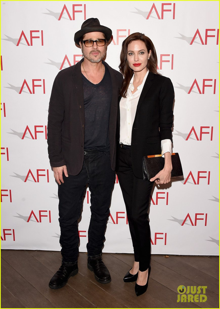 angelina jolie honors unbroken at afi awards with brad pitt 183275988