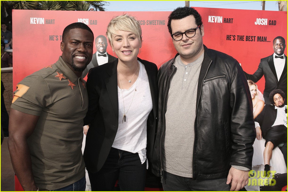 The Wedding Ringer.Kaley Cuoco Screens The Wedding Ringer For The U S Troops Photo