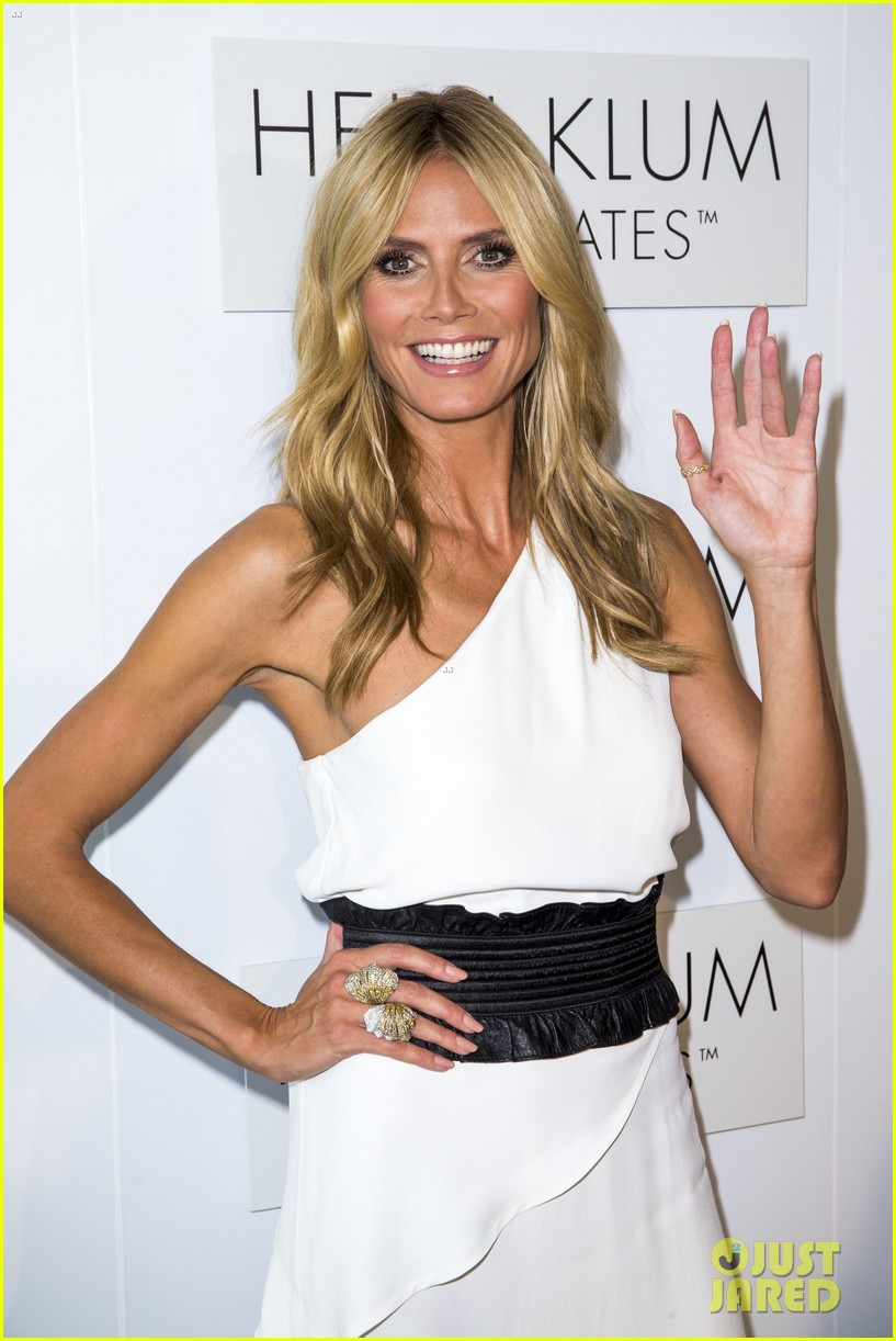 Heidi Klum Officially Launches Her Intimates Line in ...