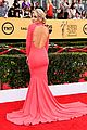 maria menounos goes gold for sag awards 2015 red carpet 10