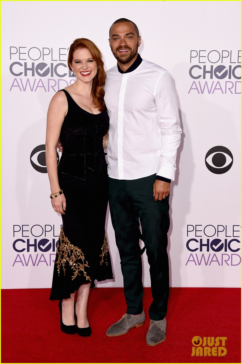 Ellen Pompeo & Jesse Williams Bring the Drama to People\'s Choice ...