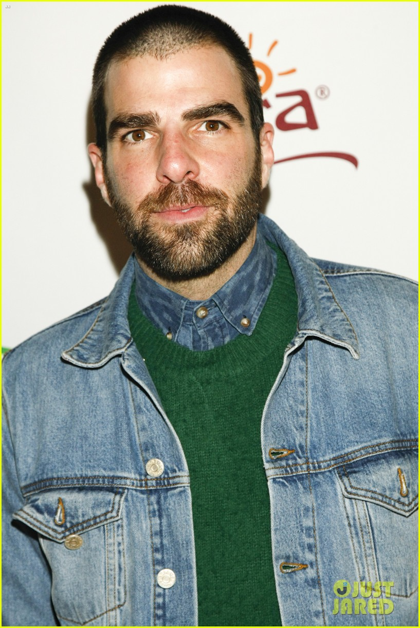 zachary quinto joins andrew lincoln walking dead co stars at sundance 063288850