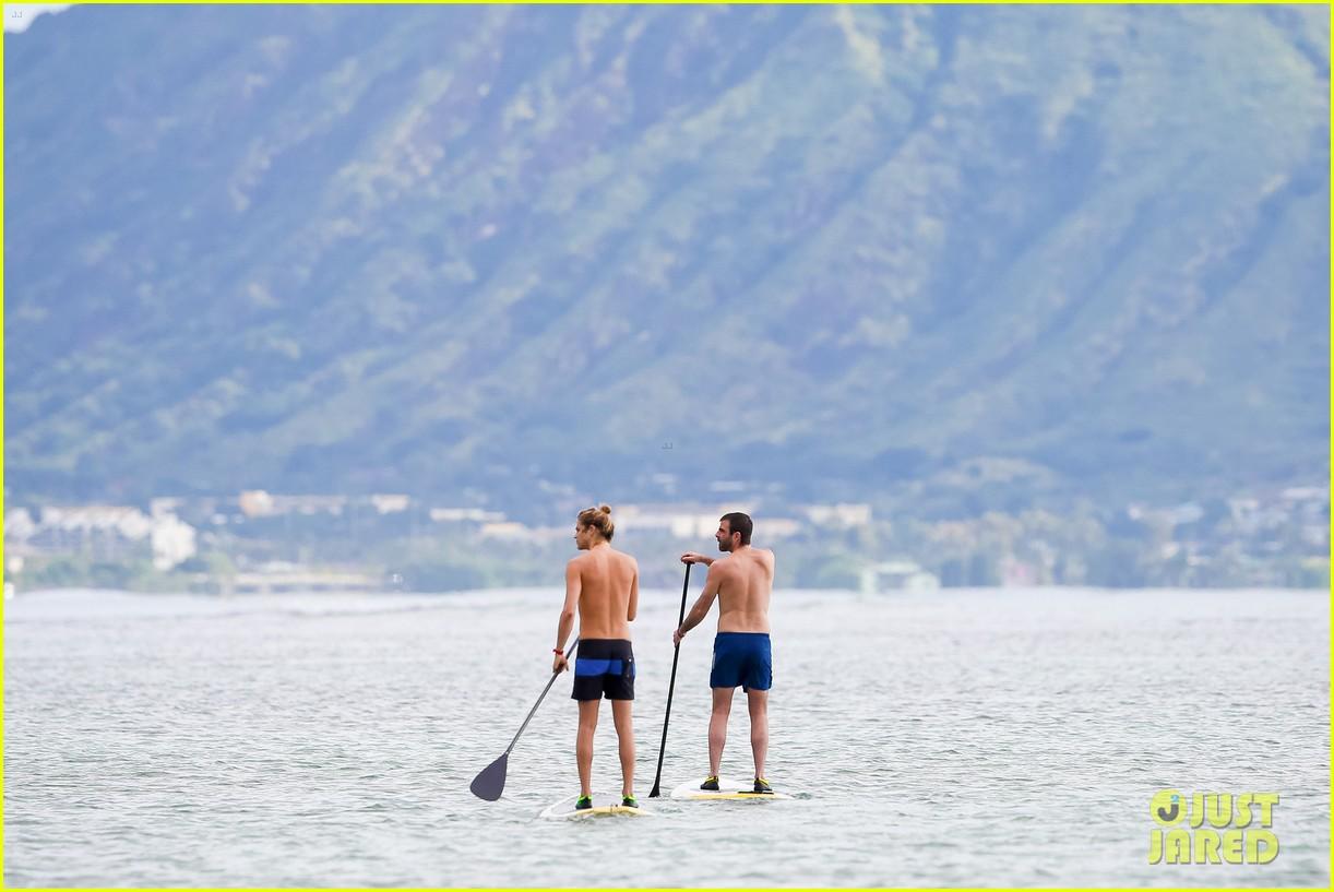 Zachary Quinto & His Model Boyfriend Miles McMillan Go