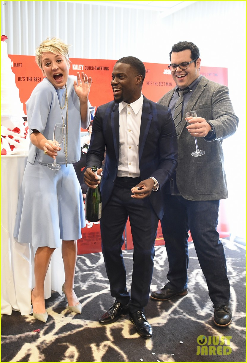 Wedding Ringer Cast.Wedding Ringer Cast Gets Amy Pascal S Support At Premiere Photo