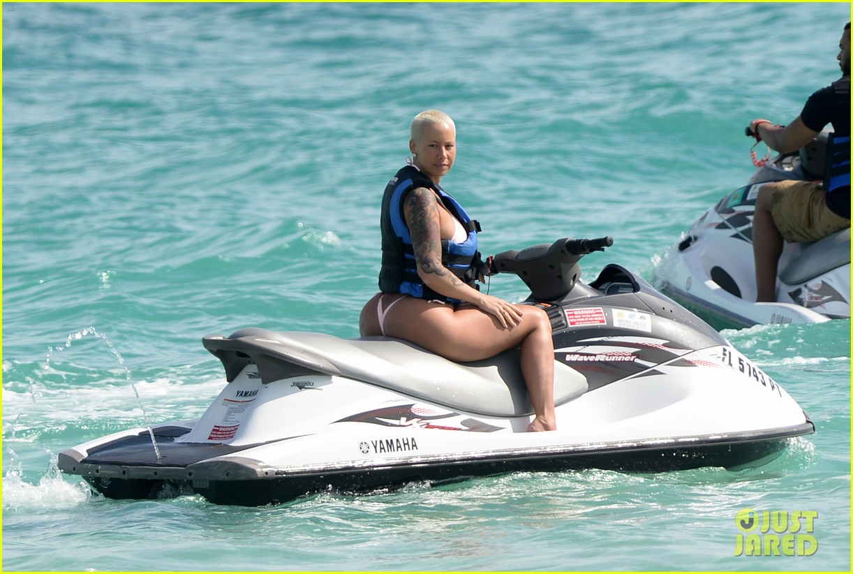 jetski bikini model Amber Rose Sends Message to Her Haters About Her String Thong Bikinis:  Photo 3284265 | Amber Rose, Bikini Pictures | Just Jared