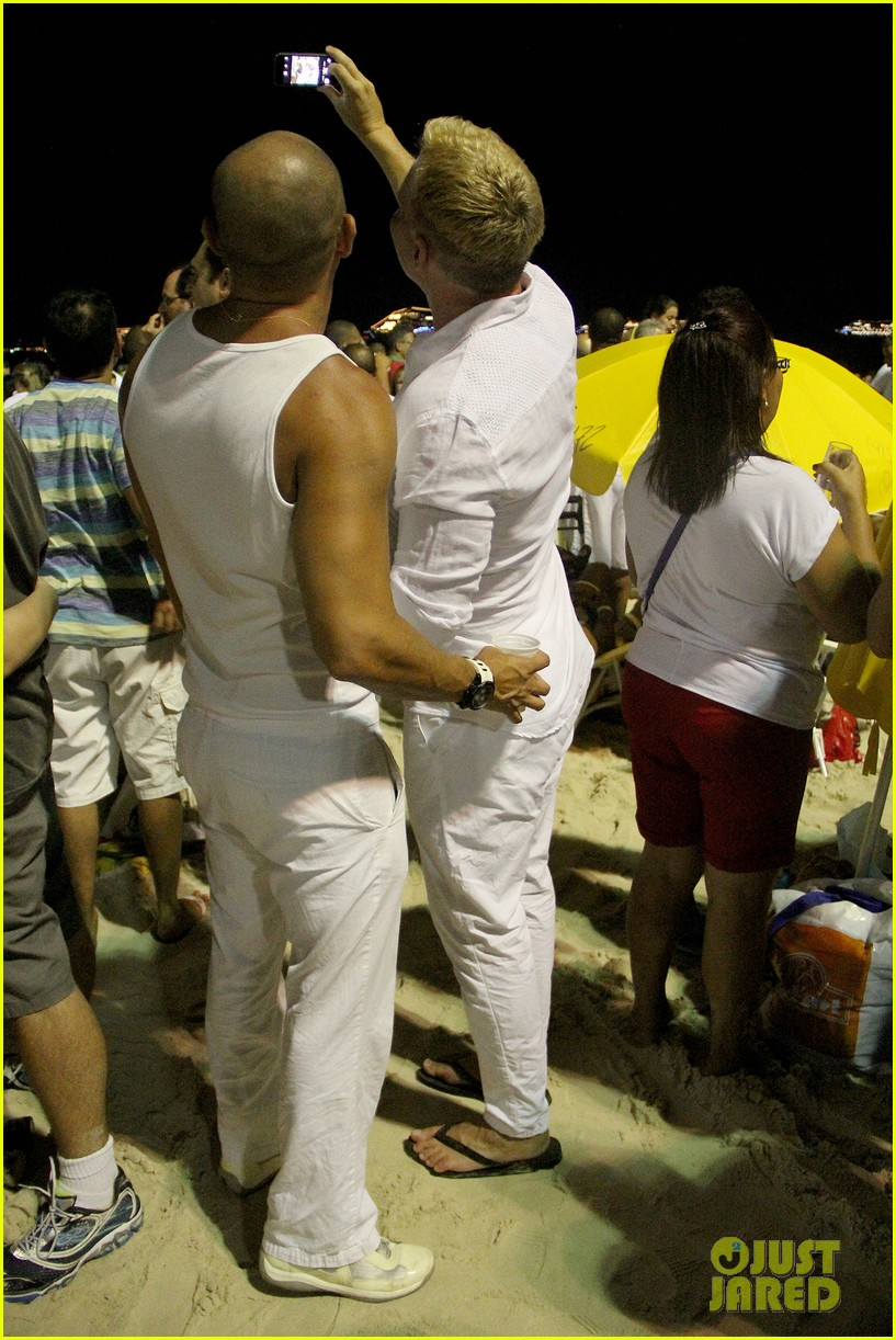 sam champion spends nye with bf 153271632