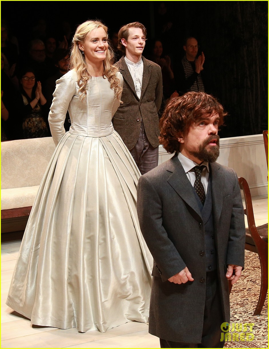 Taylor Schilling Wedding.Zachary Quinto Supports Taylor Schilling Peter Dinklage At A