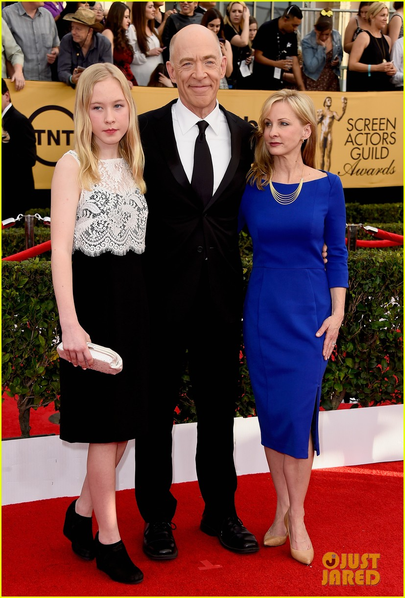 JK Simmons & Robert Duvall Bring Wives to SAG Awards 2015 ...