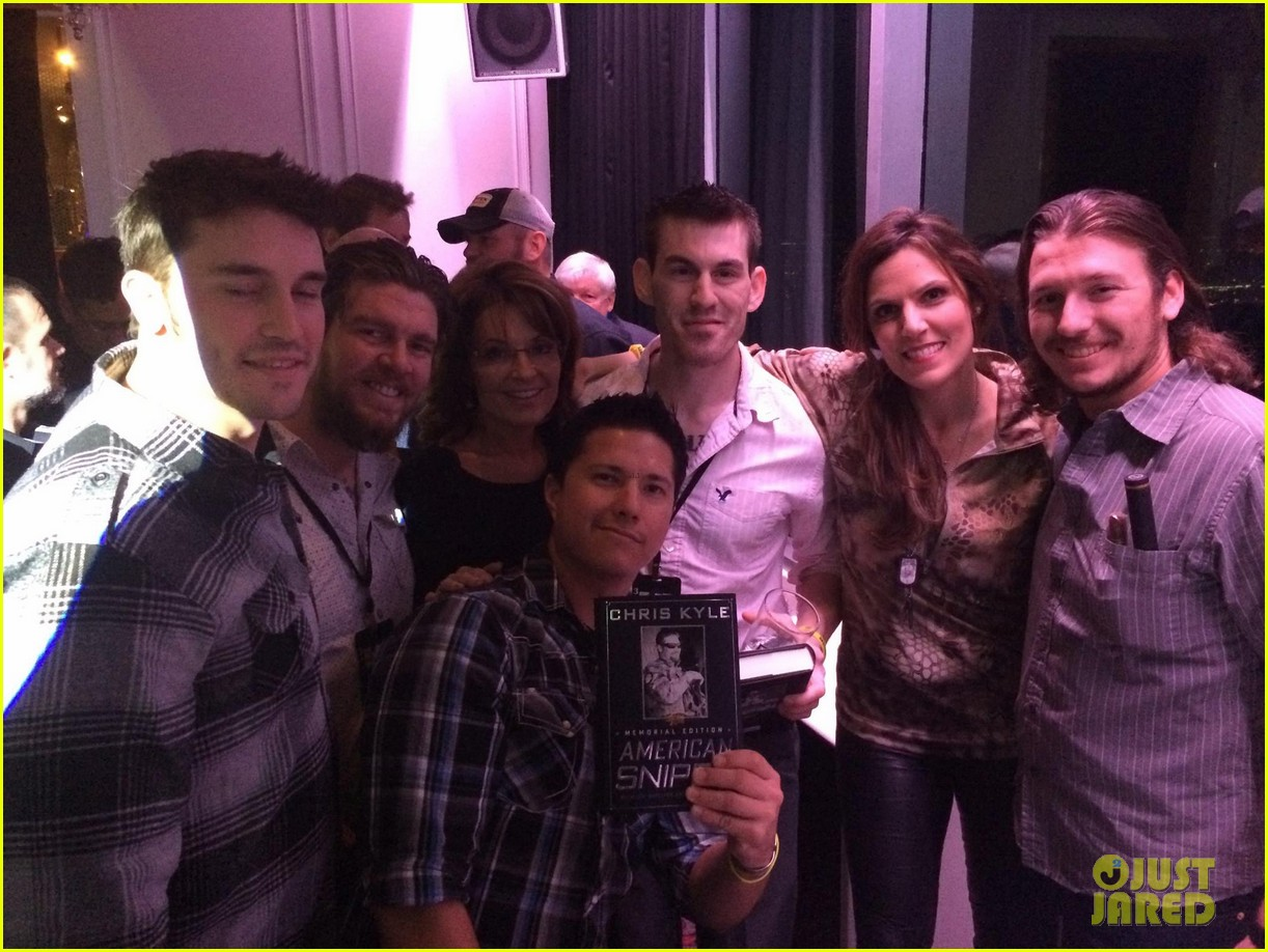 american sniper widow taya kyle hosts charity event with sarah palin 013287076