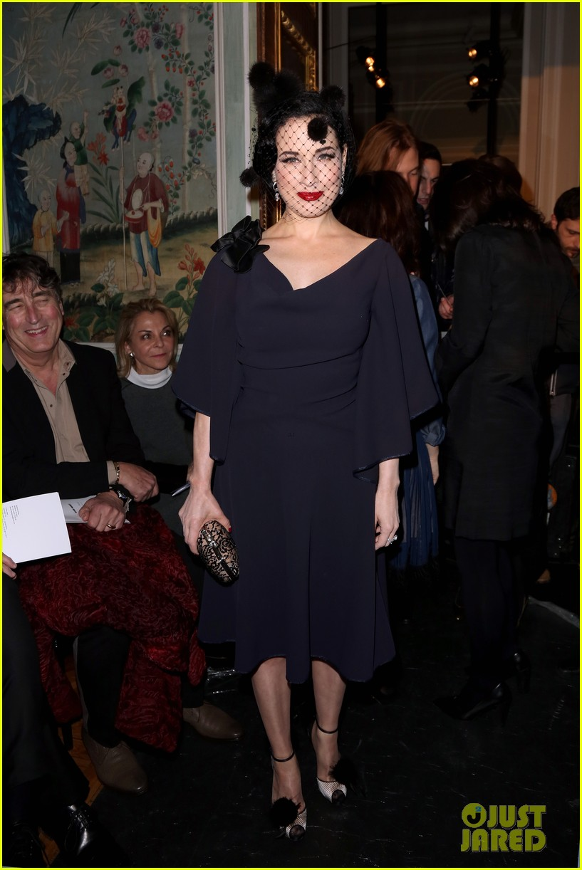 dita von teese helps alexis mabille celebrate 10 years of haute couture 093289591