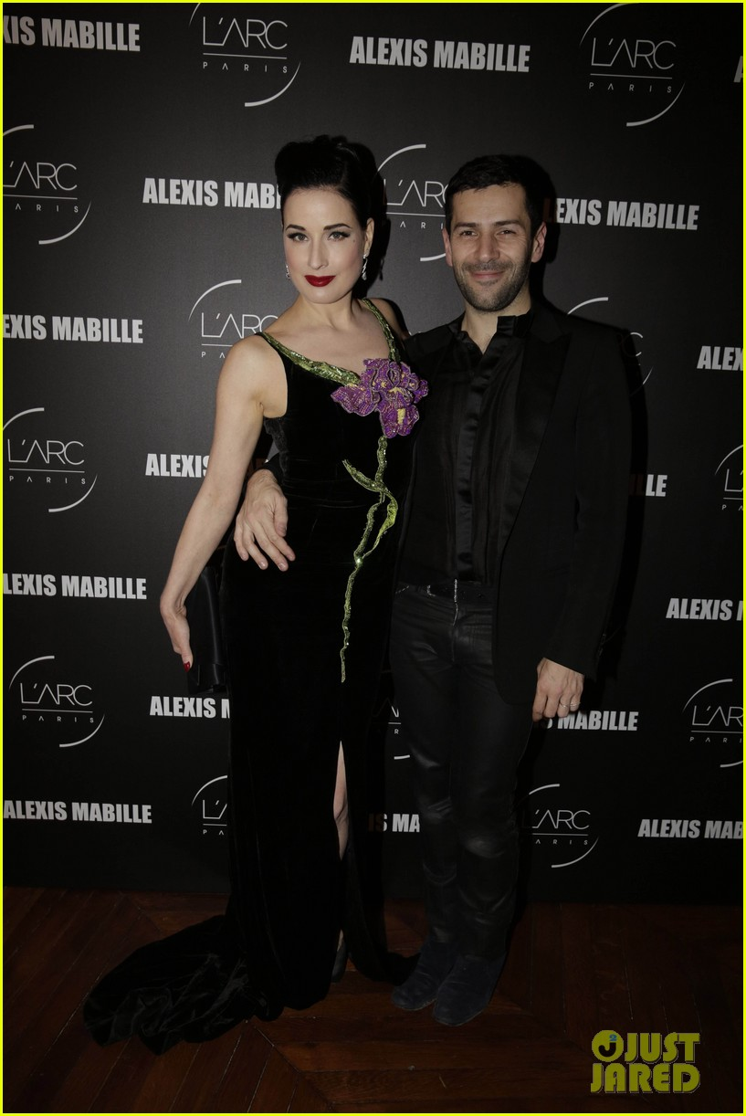 dita von teese helps alexis mabille celebrate 10 years of haute couture 113289593
