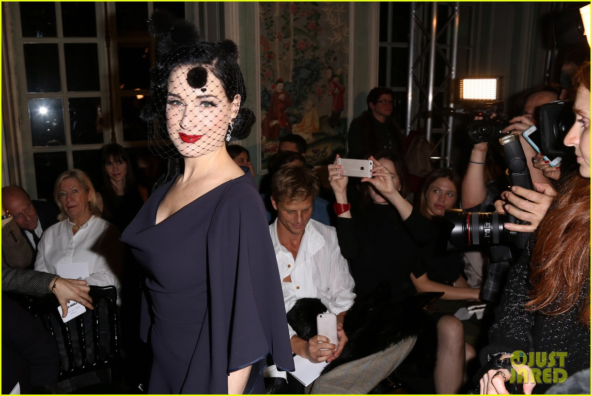 dita von teese helps alexis mabille celebrate 10 years of haute couture 133289595