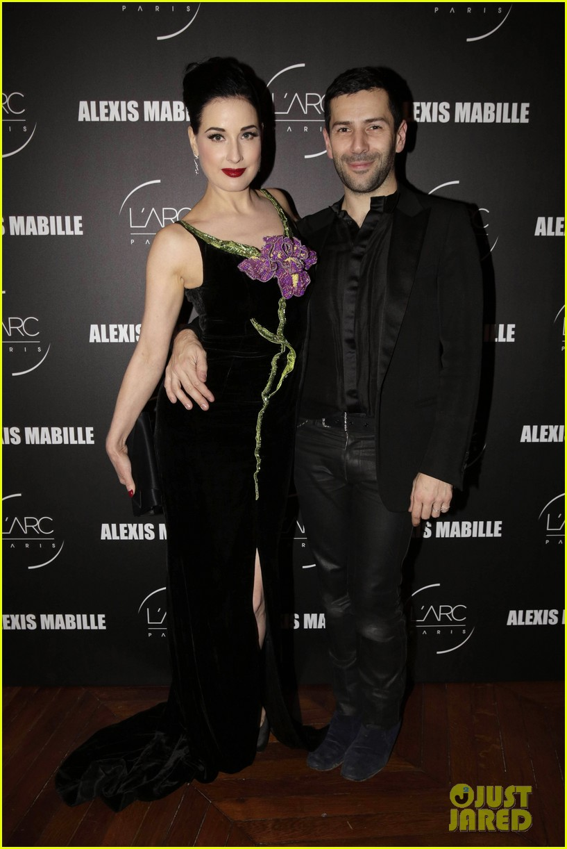 dita von teese helps alexis mabille celebrate 10 years of haute couture 143289596