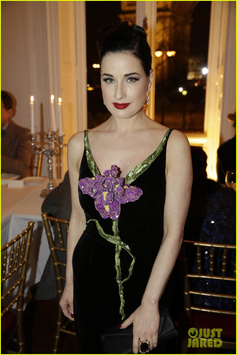 dita von teese helps alexis mabille celebrate 10 years of haute couture 173289599
