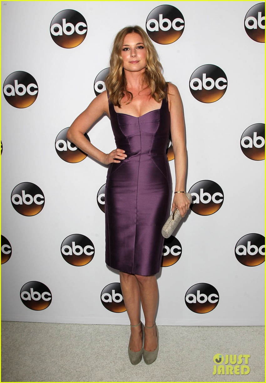emily vancamp gets dolled up with revenge cast for tca press tour 233281129