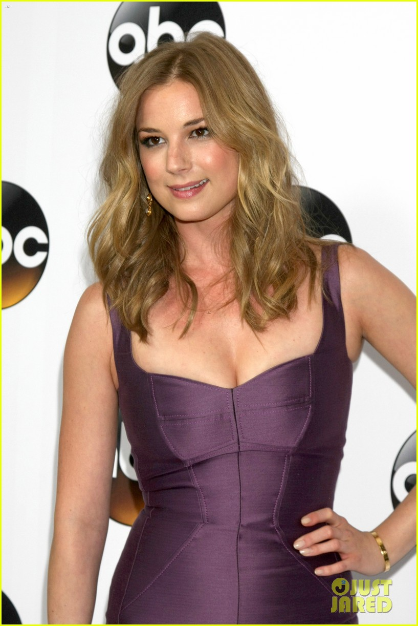 emily vancamp gets dolled up with revenge cast for tca press tour 343281140