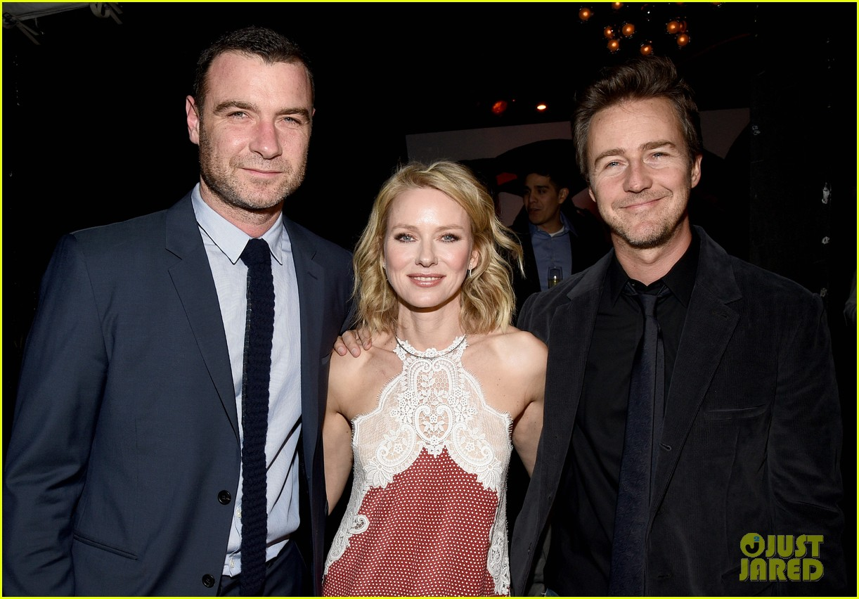 naomi watts ed norton audi golden globes party 103275700