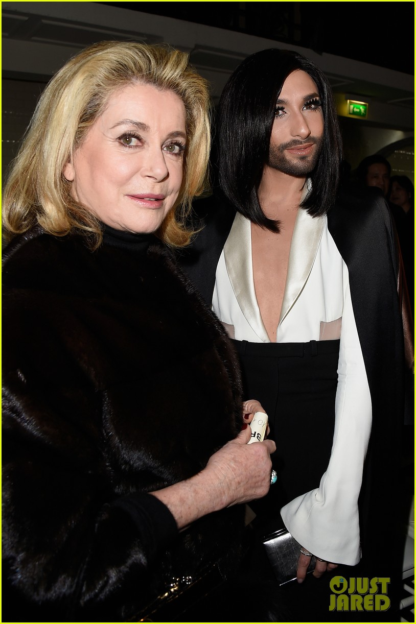 conchita wurst hits paris fashion week 053290539