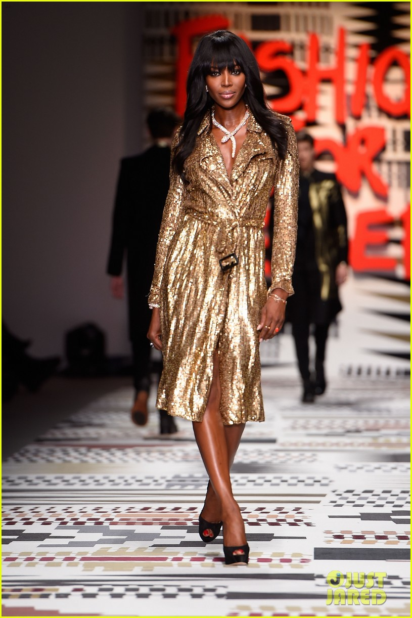 naomi campbell jourdan dunn more hit the runway at fashion for relief 133308730