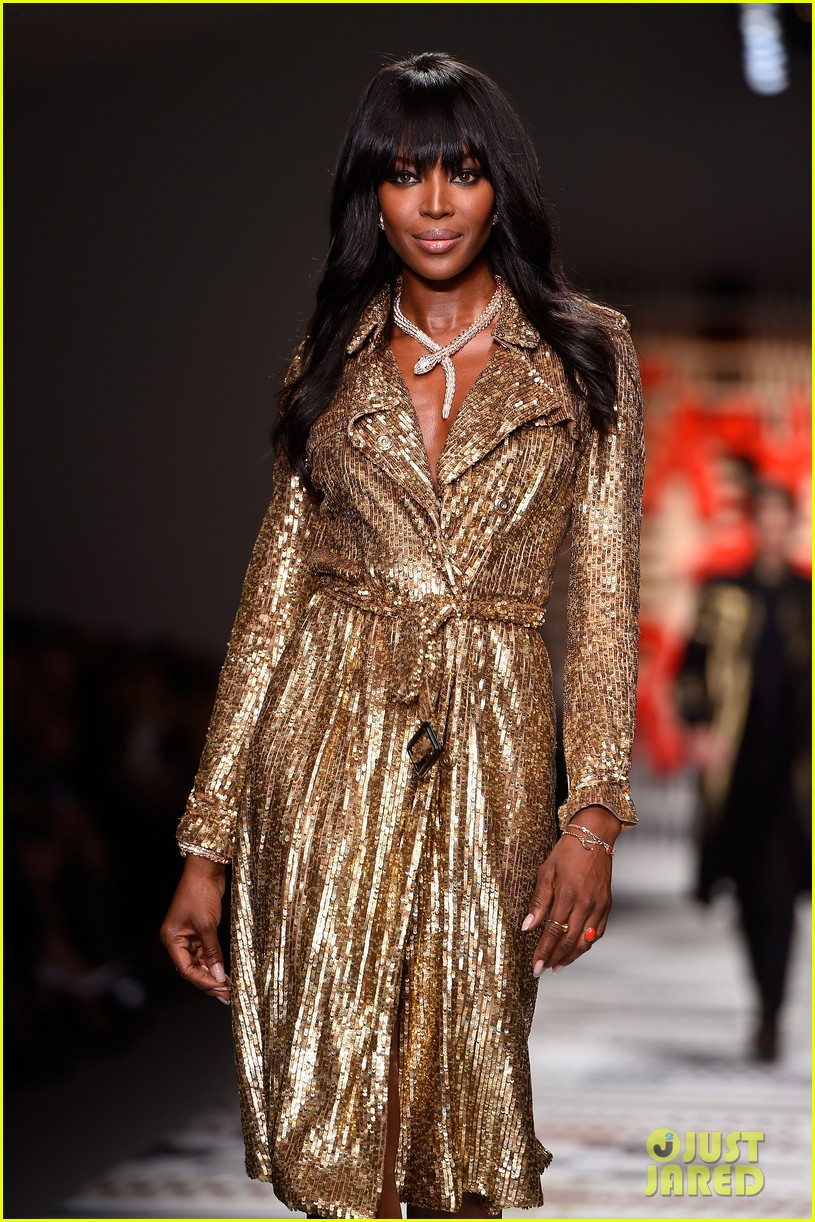 naomi campbell jourdan dunn more hit the runway at fashion for relief 163308733