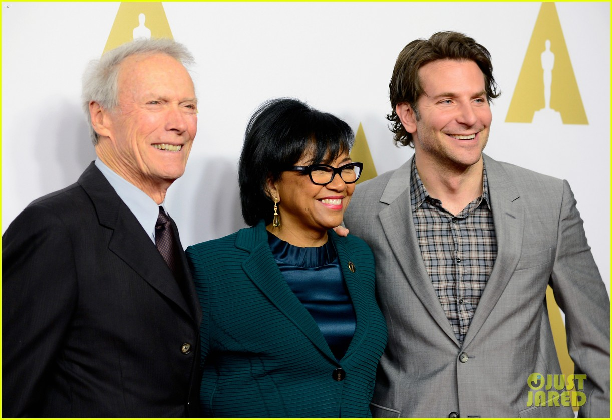 Bradley Cooper Attends Oscars Luncheon on Anniversary of