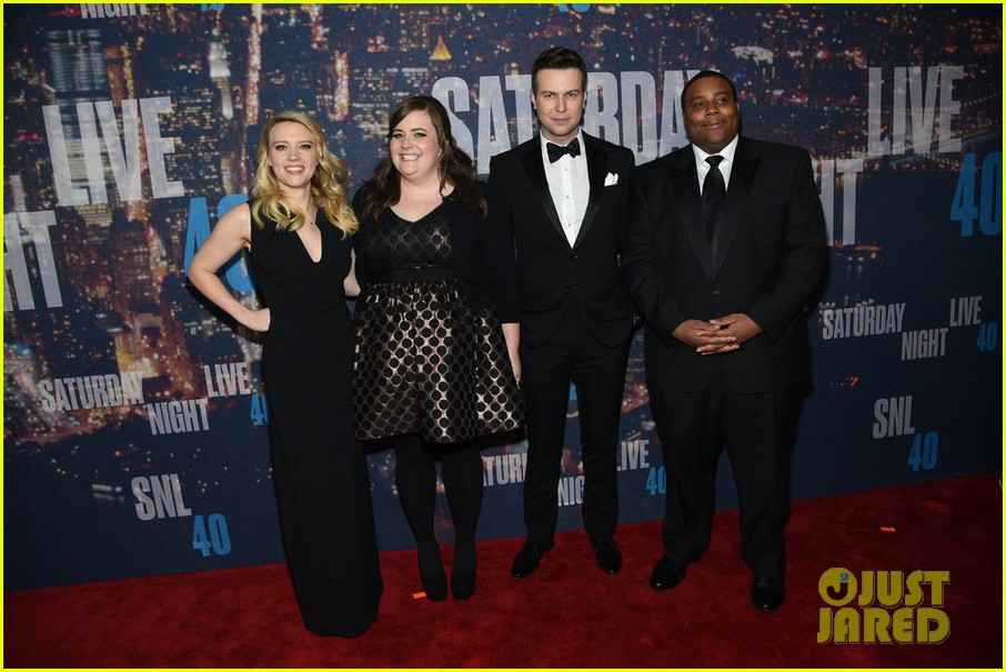 snl current cast walks nbc snl 40 red carpet 123305293