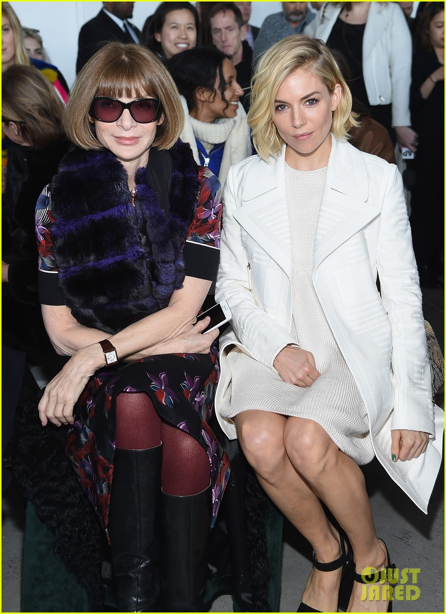 Kanye West Is A Joke As A Fashion Designer Says Kelly Cutrone Photo 3308235 2015 New York Fashion Week Winter Anna Wintour Kanye West Kelly Cutrone Sienna Miller Pictures Just Jared