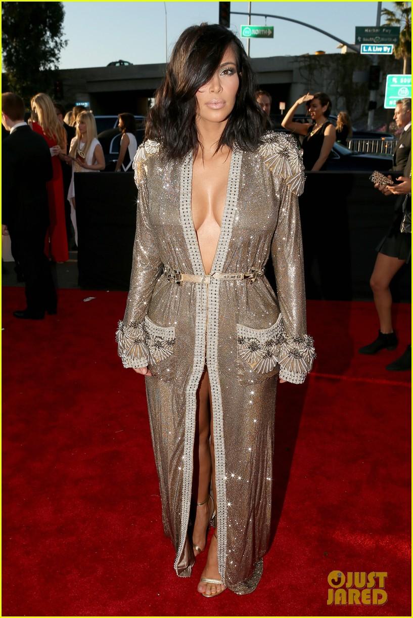 kim kardashian kanye west grammys 2015 013299406
