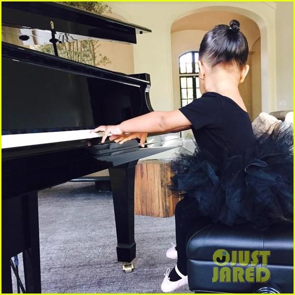 Kim kardashian s daughter north west is her princess ballerina baby