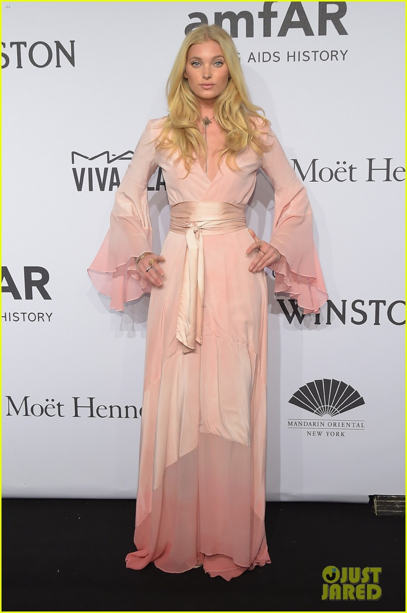 heidi klum naomi campbell toni garrn get glam to support good cause at amfar 433302719