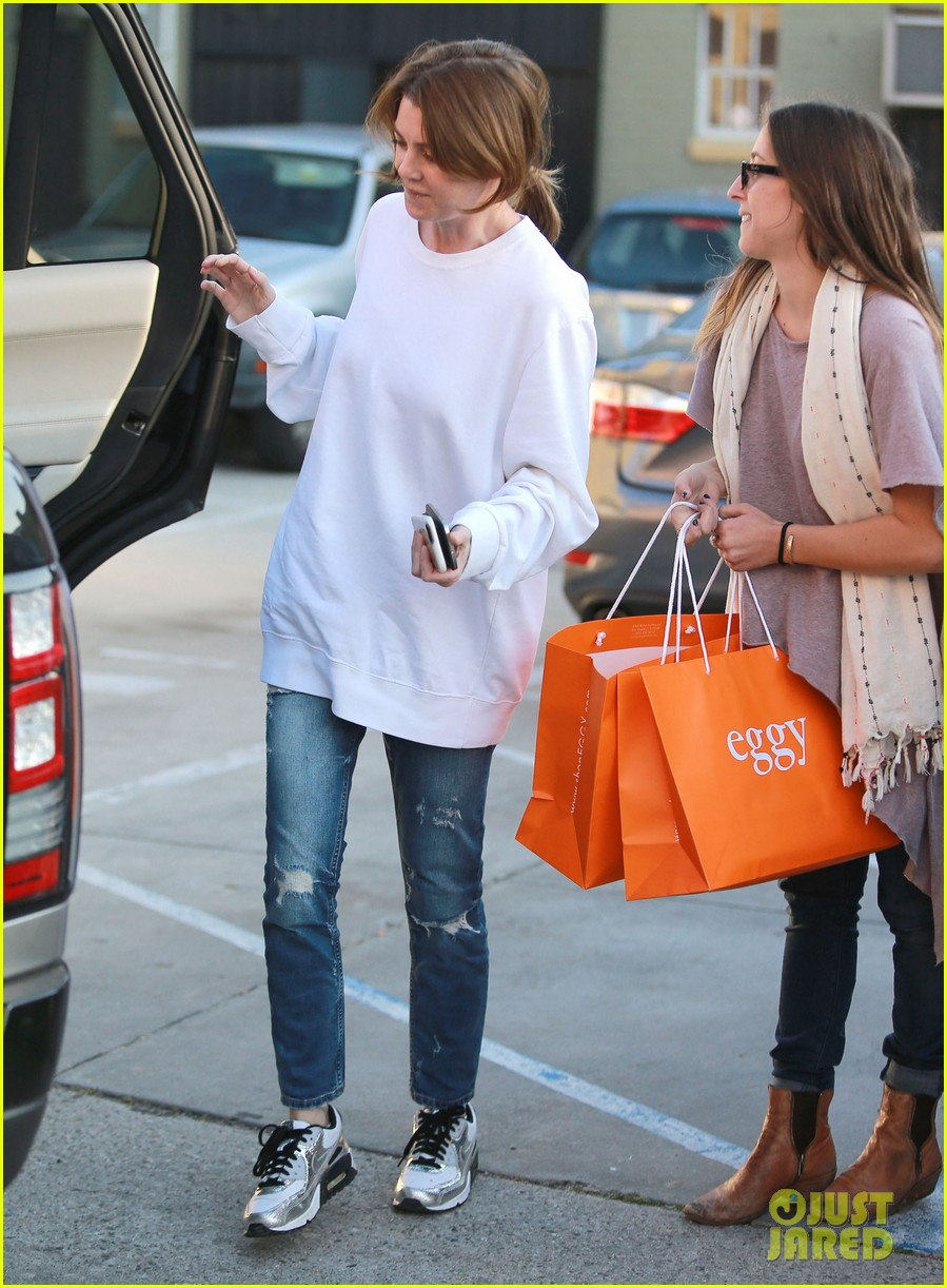 Ellen Pompeo Shops For Baby Clothes In West Hollywood Photo 3315885