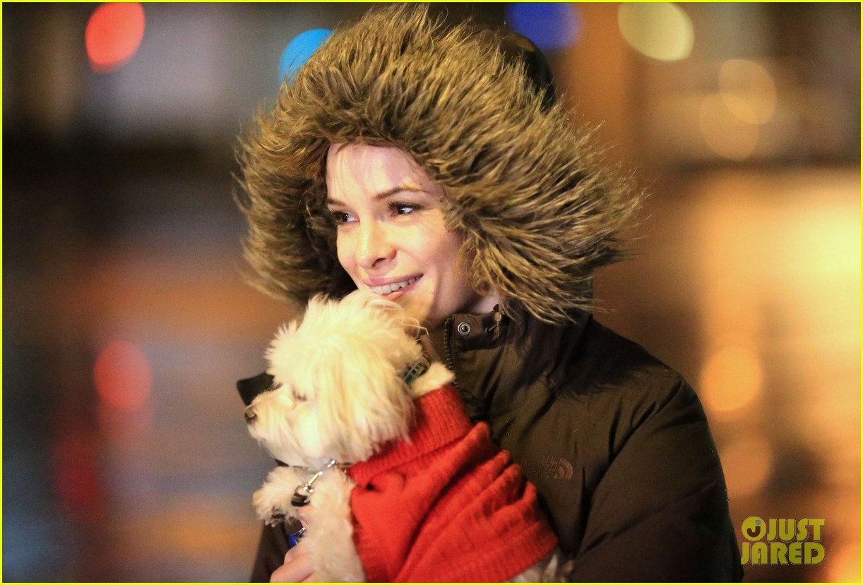 danielle panabaker puppy emily bett dressed up flash 033296637