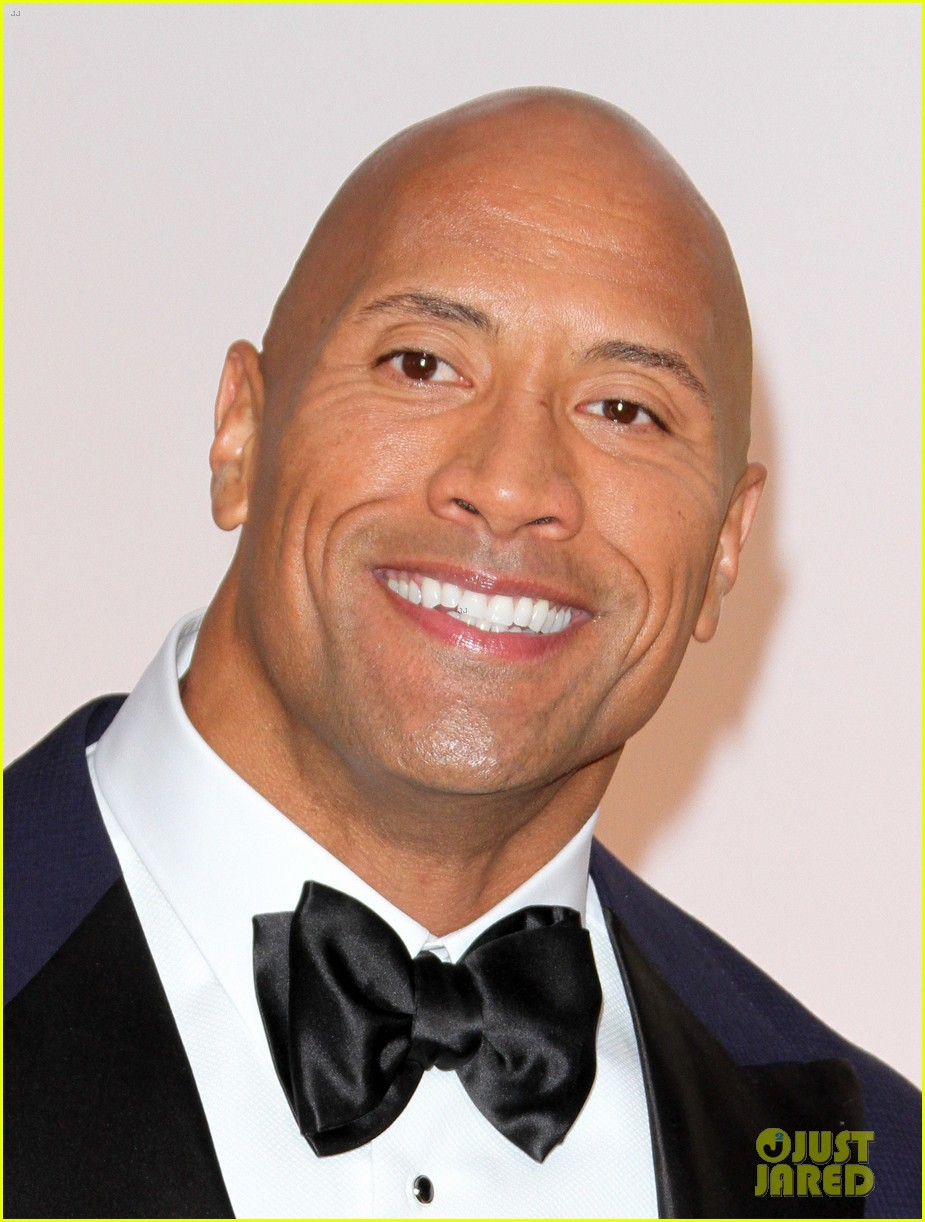 Dwayne The Rock Johnson Brings Hot Girlfriend Lauren