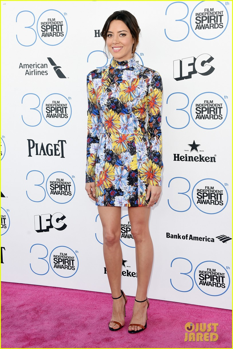kristen wiig aubrey plaza spirit awards 2015 083309714